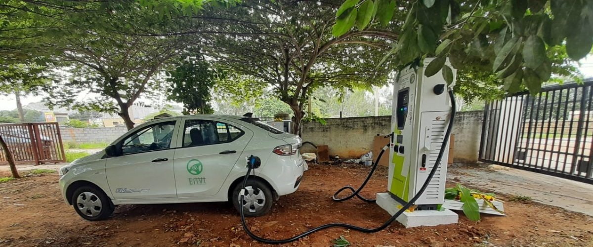 Volttic Installed DC fast charger at Bengaluru