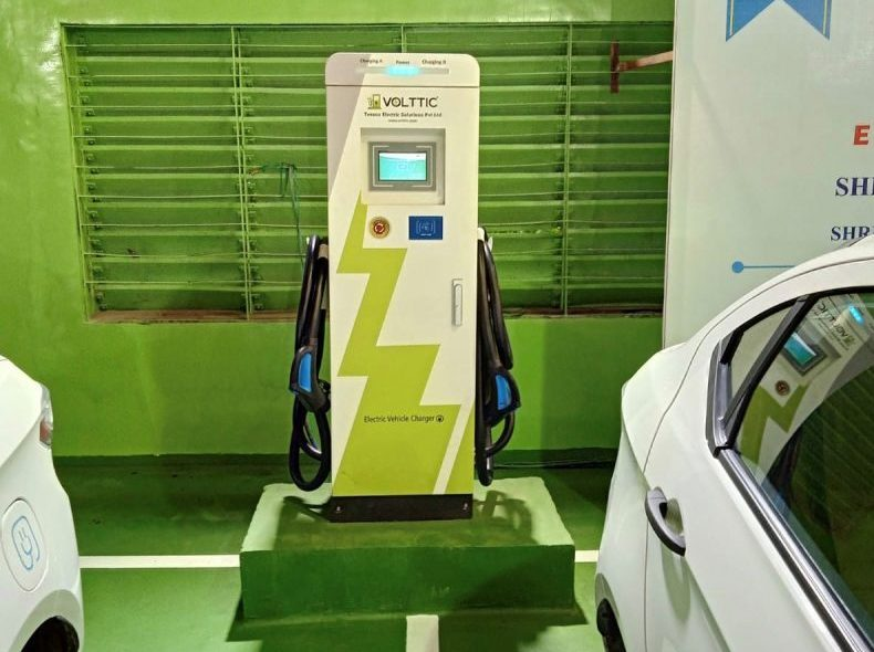 Volttic added one more Fast charging machine at Mumbai Port