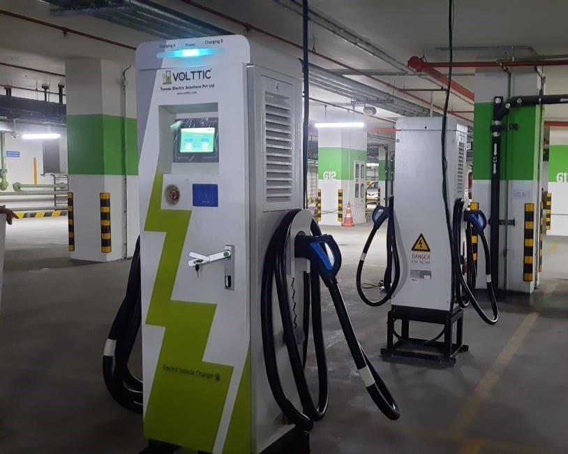 Volttic added 2 more DC fast charging machine at Bengaluru